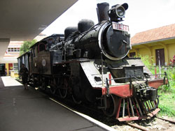 Steam train Vietnam